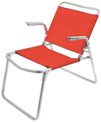 Кресло-шезлонг Nika NKK1 Синий/Белый 73х57х64 см
