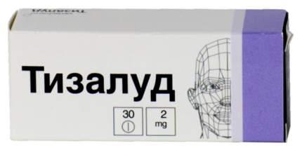 Тизалуд таблетки 2 мг 30 шт.