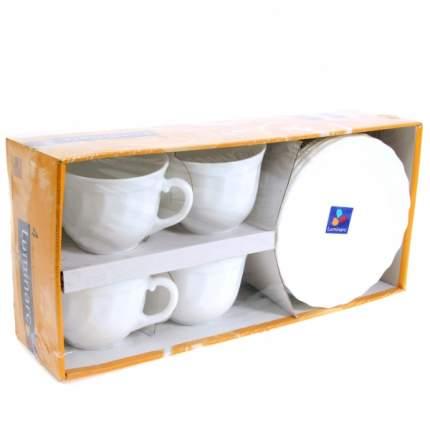Чайный сервиз Luminarc Trianon 67530 Белый