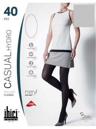 Прозрачные колготки Ibici Casual 40 Hydro цвет серый размер 1