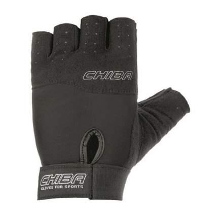 Перчатки для фитнеса мужские Chiba Allround Line Power, черные, L INT