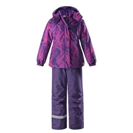 Комплект верхней одежды Lassie, цв. фиолетовый р. 104