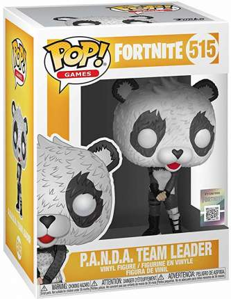 Фигурка Funko POP! Games: Fortnite: P.A.N.D.A Team Leader