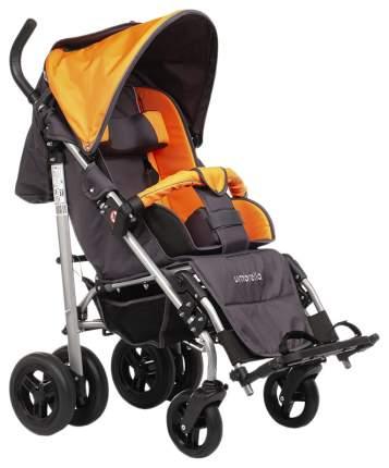Кресло-коляска Meyra Umbrella new для детей ДЦП оранжевый-серый цельнолитые