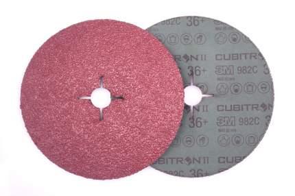 Круг фибровый шлифовальный для шлифовальных машин 3M 55073