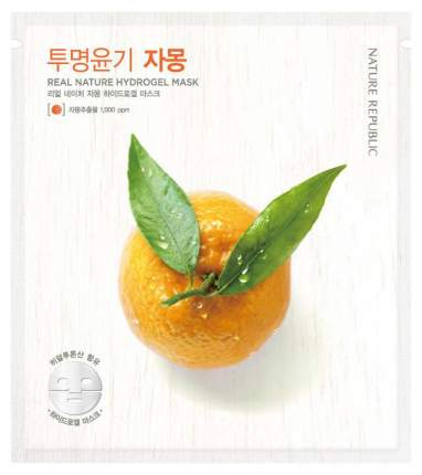 Маска для лица Nature Republic Real Nature Hydrogel Mask - Grapefruit 22 г