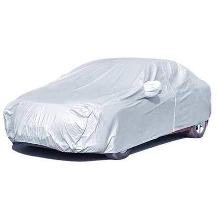 Тент чехол для внедорожника и кроссовера, ЭКОНОМ для Volkswagen Tiguan 2011-2017