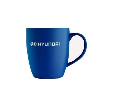 Кружка с покрытием софт-тач и лого Hyundai-Kia R8480AC583H синяя
