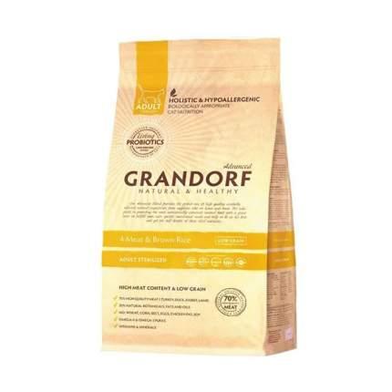 Сухой корм для кошек Grandorf Sterilised, для стерилизованных, 0,4кг
