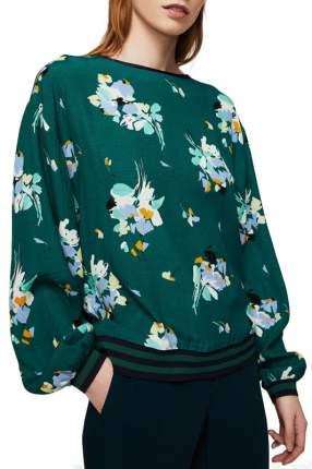 Блуза женская MANGO зеленая XS