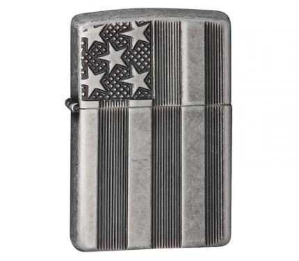Зажигалка Zippo Armor 28974 Antique Silver