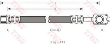 Шланг тормозной TRW для PHD351