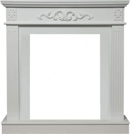 Деревянный портал для камина Electrolux Noce Classic Белый
