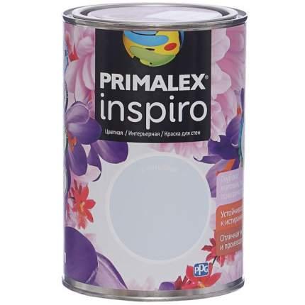 Краска для внутренних работ Primalex Inspiro 1л Голубой, 420136