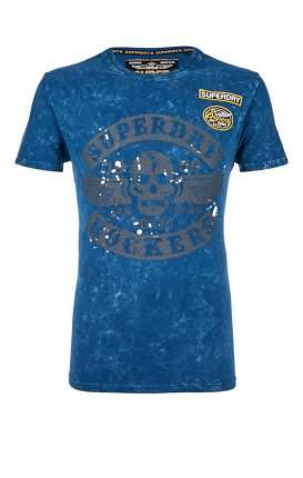 Футболка мужская Superdry синяя 48