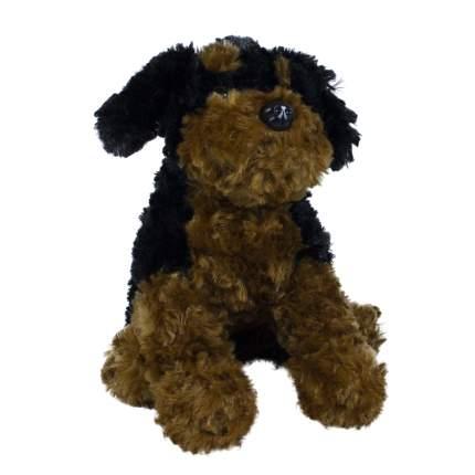 Мягкая игрушка Teddykompaniet cобачка 27 см, черно-бежевая,1687