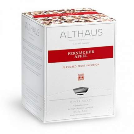 Чай фруктовый Althaus Persischer Apfel в пирамидках 15*2.75 г