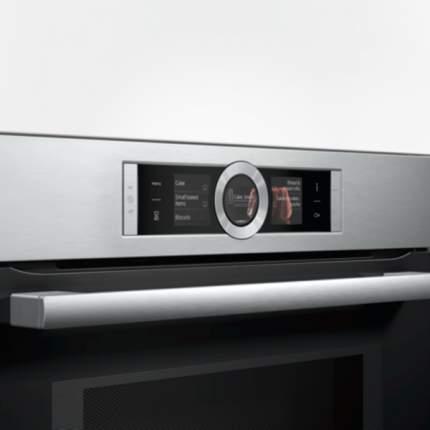 Встраиваемый электрический духовой шкаф Bosch HMG636NS1 Silver