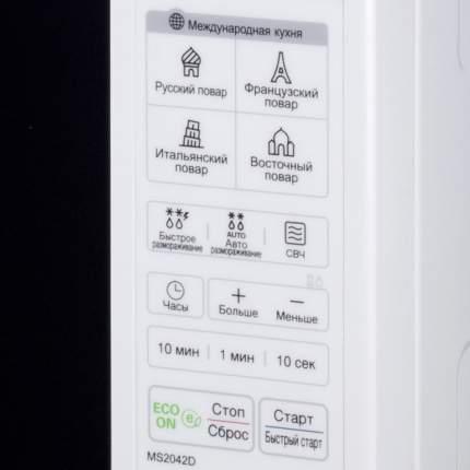 Микроволновая печь соло LG MS2042D white