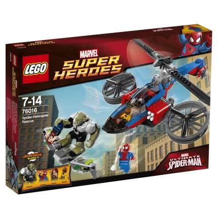 Конструктор LEGO Super Heroes Спасательная операция на вертолете Челов (76016)