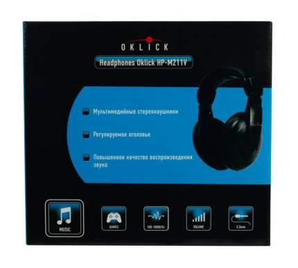 Игровые наушники OKLICK HP-M211V Black