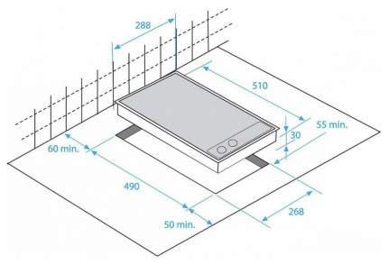 Встраиваемая варочная панель электрическая Beko HDCE 32200 X Silver