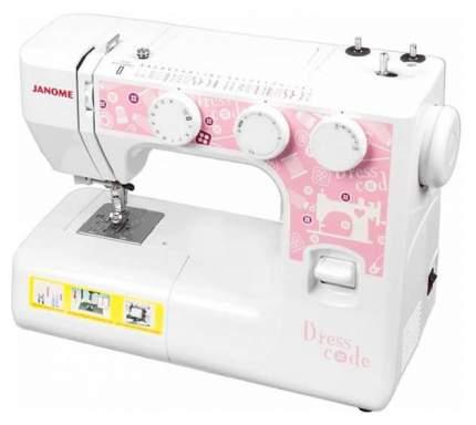 Швейная машина Janome Dresscode белый