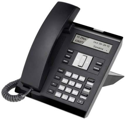 IP Телефон Unify OpenScape 35G Eco Text Черный L30250-F600-C420