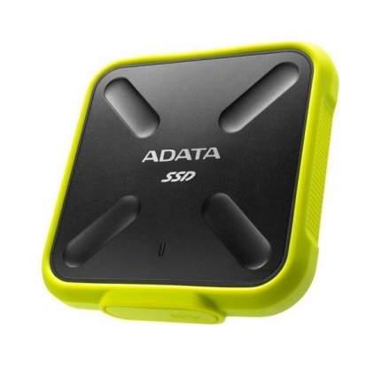Внешний SSD накопитель ADATA SD700 512 GB Yellow/ Black (ASD700-512GU3-CYL)