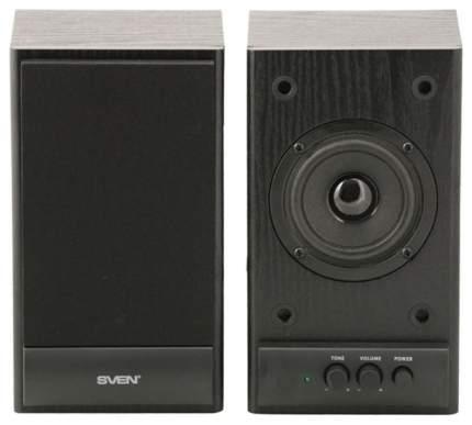Акустическая система 2.0 Sven SPS-607 Черный
