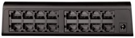 Коммутатор D-Link DES-1016A/E1B Черный