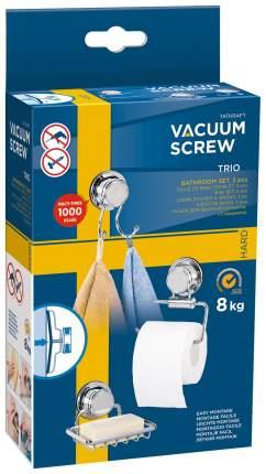 Набор для ванной Tatkraft Vacuum Screw Trio Bathroom Set 10604
