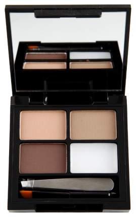Набор декоративной косметики Makeup Revolution Focus & Fix Brow Kit Light Medium