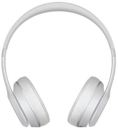 Беспроводные наушники Beats Solo3 Wireless Matte Silver