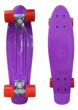 Скейтборд детский ecoBalance Фиолетовый с красными колесами