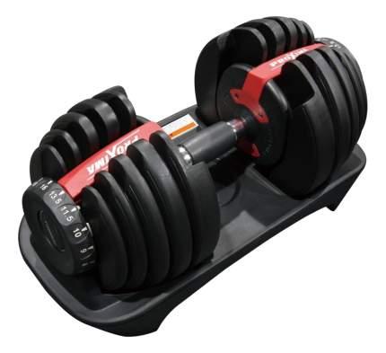 Гантель регулируемая ProXima Gigant 24 кг