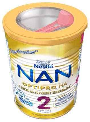 Молочная смесь гипоаллергенная NAN 2 Optipro с 6 мес 400 г