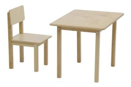 Комплект детской мебели Polini Simple 105 S, натуральный