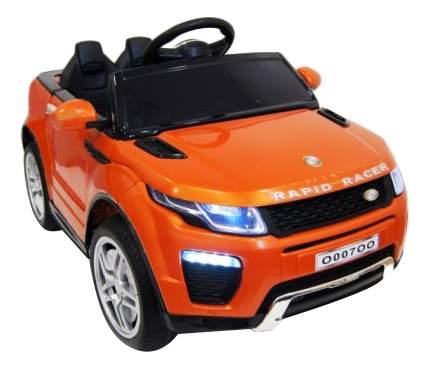 Электромобиль Range оранжевый RIVERTOYS