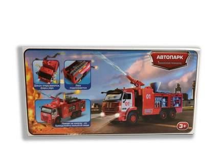 Автопарк пожарная машина 1:38 Play Smart 9624 инерционный
