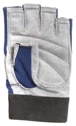 Перчатки для тяжелой атлетики и фитнеса VAMP RE-537, синие, S