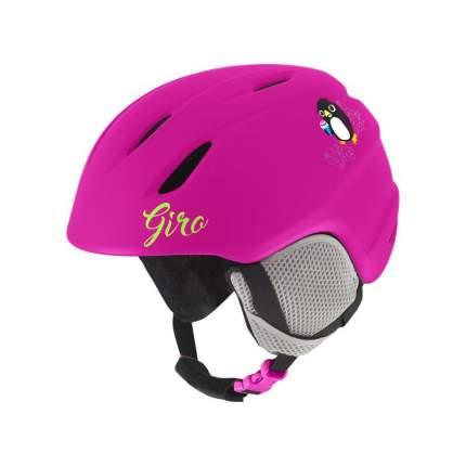 Горнолыжный шлем детский Giro Launch Jr 2018, розовый, XS