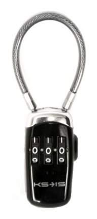 Кодовый USB Am замок ноутбука с тросом KS-is Unik KS-046