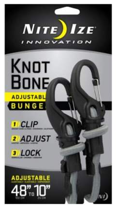 Крепление с карабином и веревкой Nite Ize Knotbone Adjustable Bungee #9 KBB9-03-01