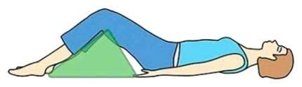 Валик для массажа US Medica USM 008 бежевый