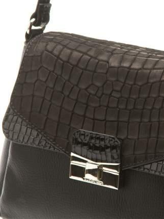 Сумка женская кожаная Eleganzza Z-15395 черная