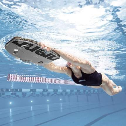 Доска для плавания Arena Kickboard 95275 серебристая (50)