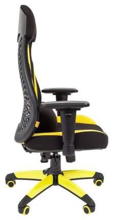 Игровое кресло CHAIRMAN game 14 00-07022221, желтый/черный