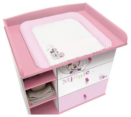Рамка для пеленального комода Polini Kids Disney Baby 5090 Минни Маус Фея розовый