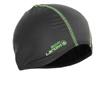 Шапочка для плавания Larsen 3059 black/lime